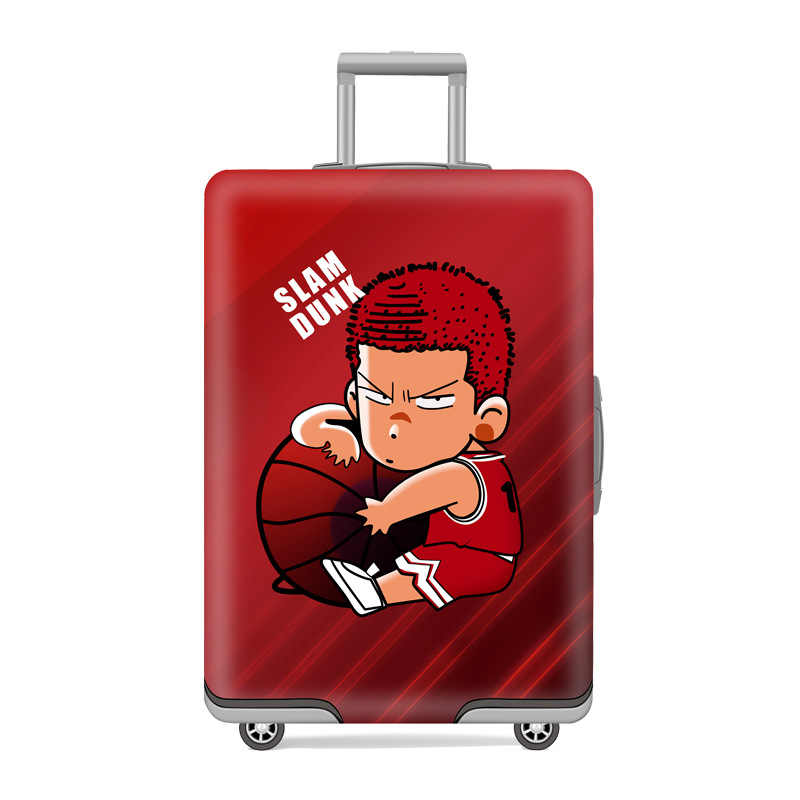 Эластичный Чехол для багажа Дорожный чемодан на колесиках защитный чехол для багажа мультяшный чехол для чемодана Детские Мультяшные дорожные аксессуары