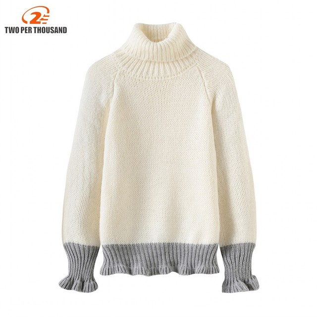 3f26a4e2c2 Women Turtleneck Winter Sweater Women 2018 Long Sleeve Knitted Women  Sweaters And Pullovers Female Jumper Tricot Tops