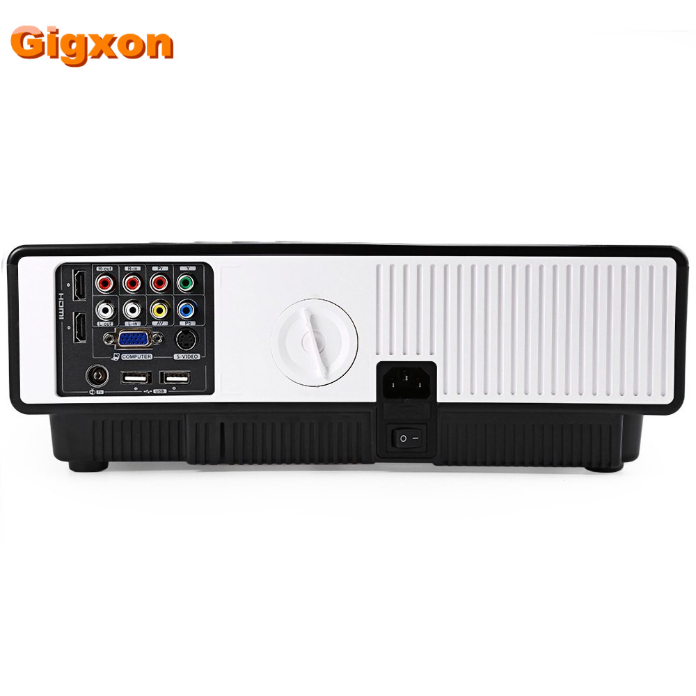 Gigxon-G3100 W310 1080*800 LED proyector digital de gama alta de cine en casa pr