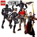 Star Wars Rogue Uno Figuras K-2SO Chirrut Imwe Baze Malbus Kylo Ren Daeth Vader Figura juguetes bloques de construcción compatibles Lepin ir