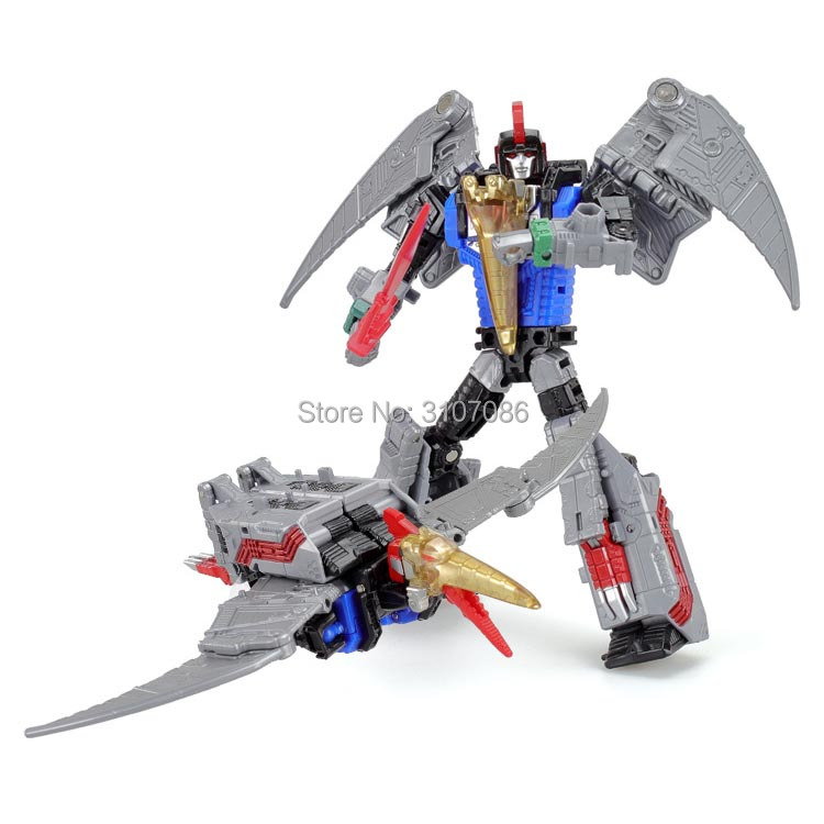 Image 3 - G1 BPF Transformation Dinoking Volcanicus Grimlock Slag Sludge Snarl Swoop slash Dinobots 5IN1 Action Figure Robot Toys-in Action & Toy Figures from Toys & Hobbies