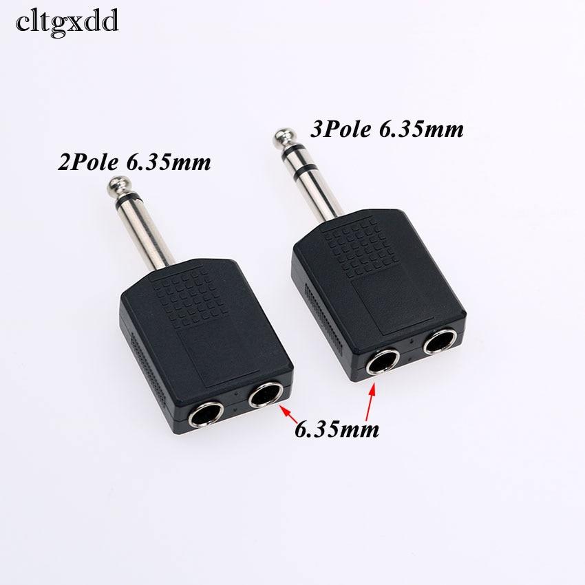 "Mono Stereo Plug Socket Adapters 2.5mm 3.5mm 6.35mm 1//4/"""