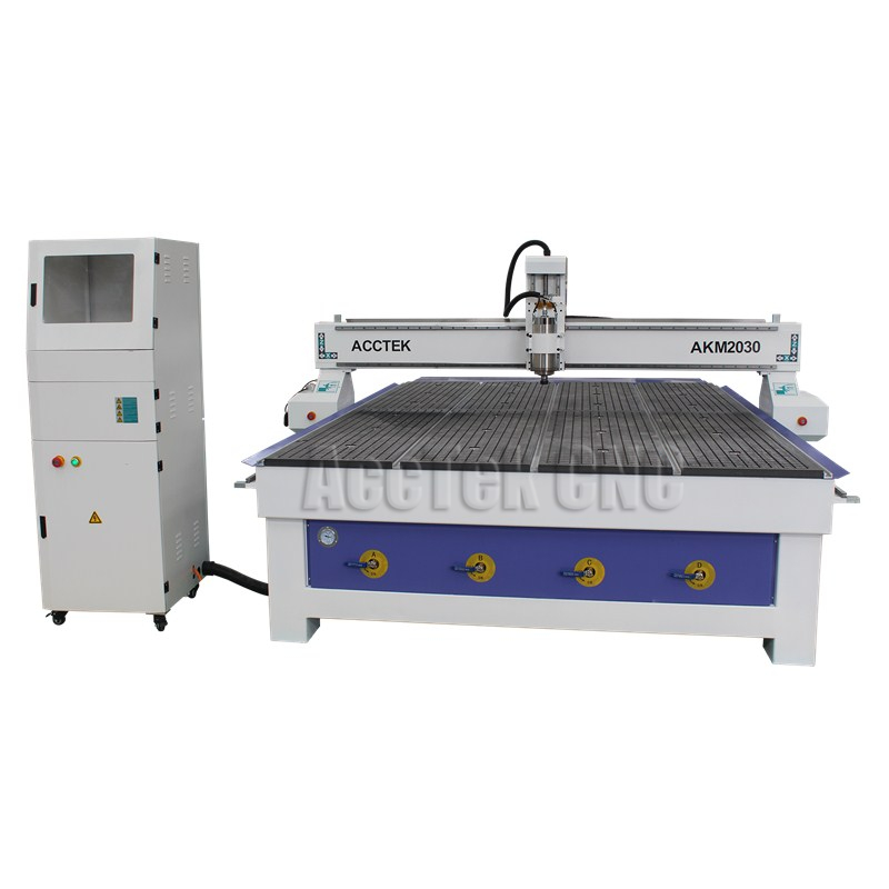 Acctek Cheap Cnc Cutter 2030 2040 Cnc Router For Acrylic Cutting Machine Price