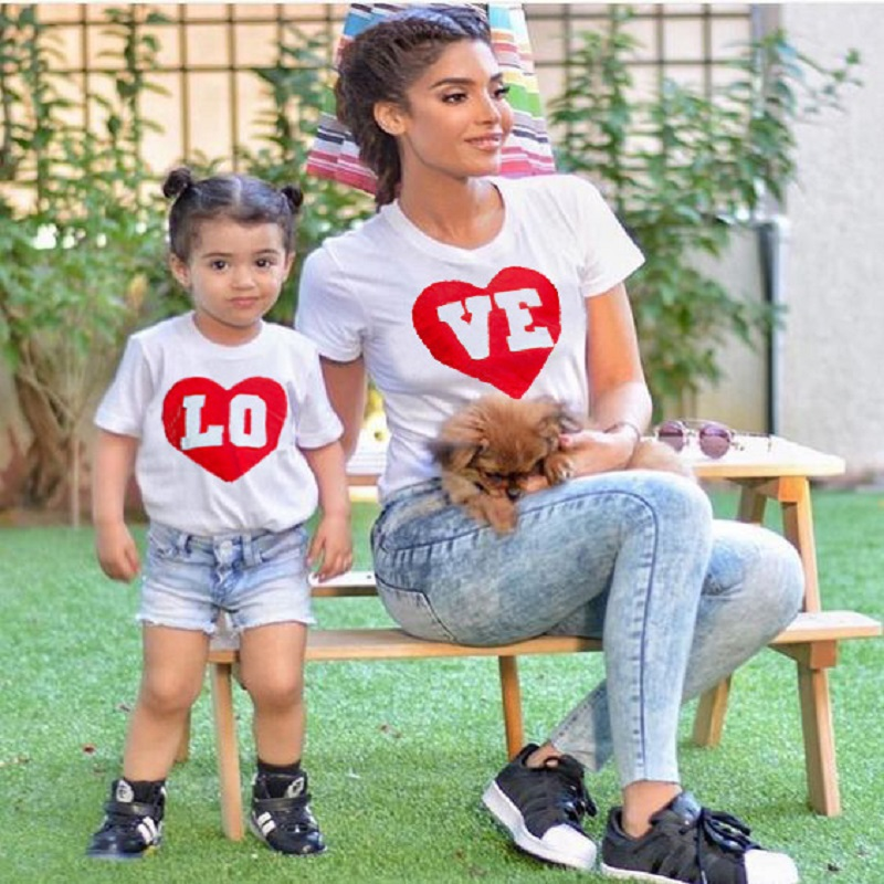 <font><b>Best</b></font> <font><b>Friends</b></font> <font><b>Shirts</b></font> Mother and Daughter Baby Girls Matching Clothes Mama Bear Baby Bear <font><b>Kids</b></font> i love mom T <font><b>shirt</b></font> Family Love Tops image