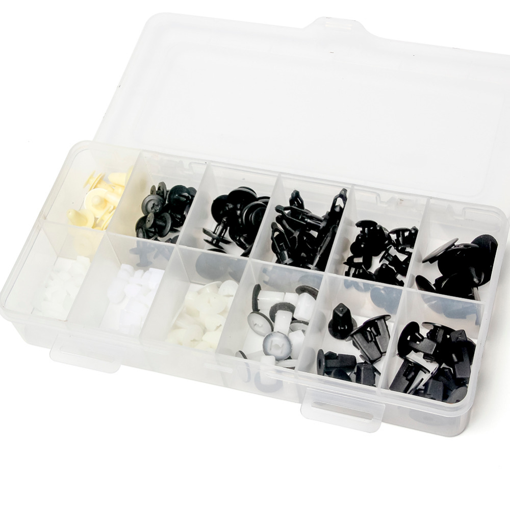 Triclicks 146x 350x kinnitusklambrid plastikust nööpnõel - Auto salongi tarvikud - Foto 3