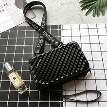 Handbags Shape Tote Luggage Clutch Mini Box Bag SF