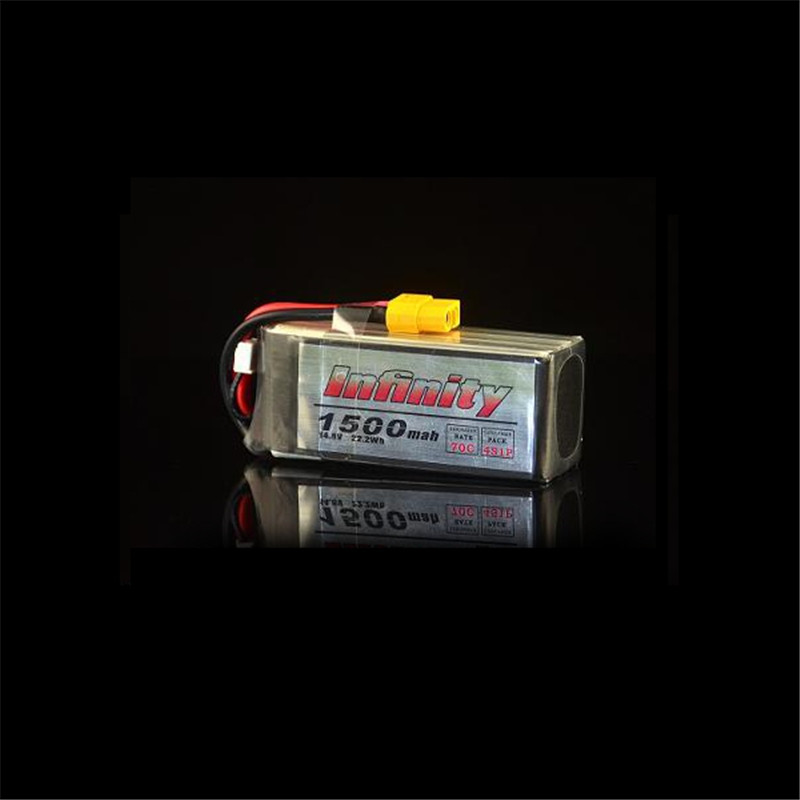 Rechargeable Lipo Battery For Infinity 4S 14 8V 1500mAh 70C Graphene XT60 Support 15C Boosting Charge