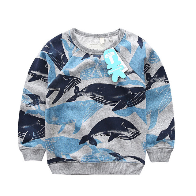 Clearance Boys Sweatshirt Children Autumn Hoodies Casual Fashion Kids Pullover Blouse Tops Long Sleeve Baby Boys Girls Clothes