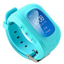 ใหม่สมาร์ทโทรศัพท์นาฬิกาเด็กเด็กนาฬิกานาฬิกาข้อมือQ50 GSM GPRSติดตามจีพีเอสป้องกันการสูญเสียS Mart W Atchเด็กยามสำหรับiOS A Ndroid