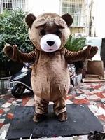 Bear mascot costumes bear costumes brown bear walking act teddy bear mascot costume