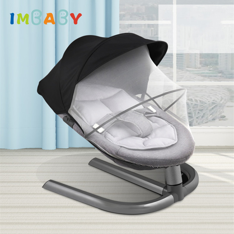 IMBABY Baby Rocking Chair Baby Swing Baby Cradle Rocking Chair For Newborns Swing Chair Baby Swing IMBABY Baby Rocking Chair Baby Swing Baby Cradle Rocking Chair For Newborns Swing Chair Baby Swing Rocking Chair Infant Cradle