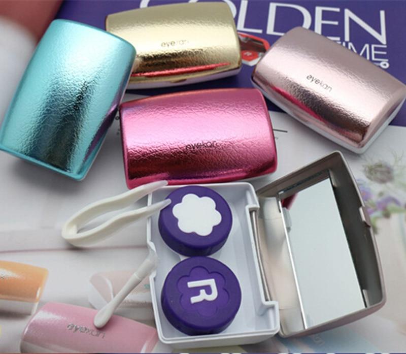 Eyekan Caja de lentes de contacto de lujo para mujeres Estuche de - Accesorios para la ropa - foto 4