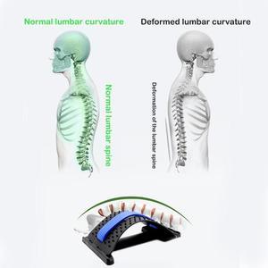 Image 4 - 1pc חזרה למתוח ציוד לעיסוי קסם אלונקה כושר המותני תמיכה הרפיה עמוד השדרה כאב הקלה מתקן בריאות