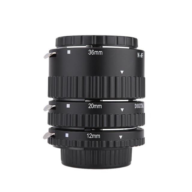 Майке MK-N-AF1-B Электронный Гора Автофокус Макро Удлинитель Кольцо для Nikon D7100 D7000 D5200 D5100 D5000 D3100 D3000
