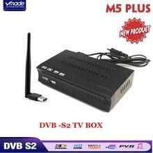 DVB-S2 спутниковый ресивер + USB Wi Fi dongle адаптер мини телевизионные антенны Поддержка Встроенный программное обеспечение IPTV Cccamd Newcamd