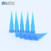 100 шт 22 г TT Пластиковые клеевые дозирующие капельницы иглы