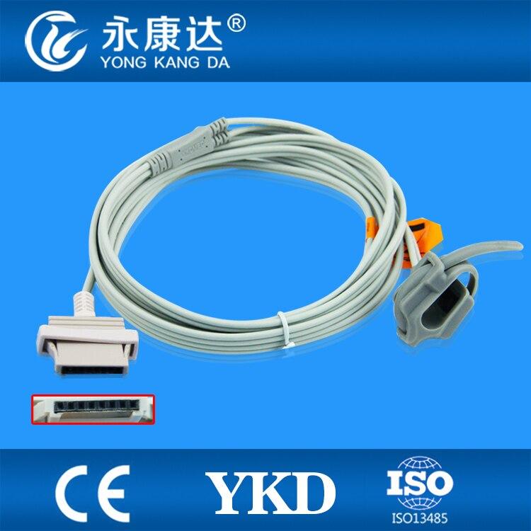 Reusable NONIN spo2 sensor for neonate wrap ,8pin 3m spo2 probe,Reusable NONIN spo2 sensor for neonate wrap ,8pin 3m spo2 probe,