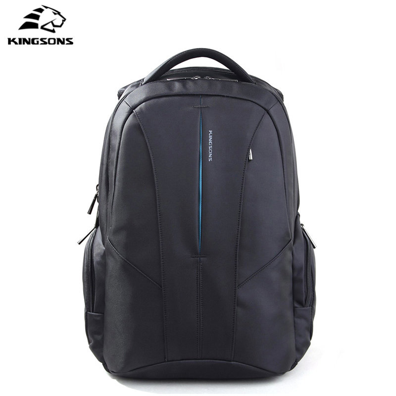 Kingsons Large Capacity 15.6 Inch Laptop Bag Men's Bag Multifunction Rucksack Anti-theft Waterproof School Bag Mochila Masculina kingsons brand backpack men bag 15 6 inch laptop large capacity multifunction fallow backpack anti theft waterproof school bag