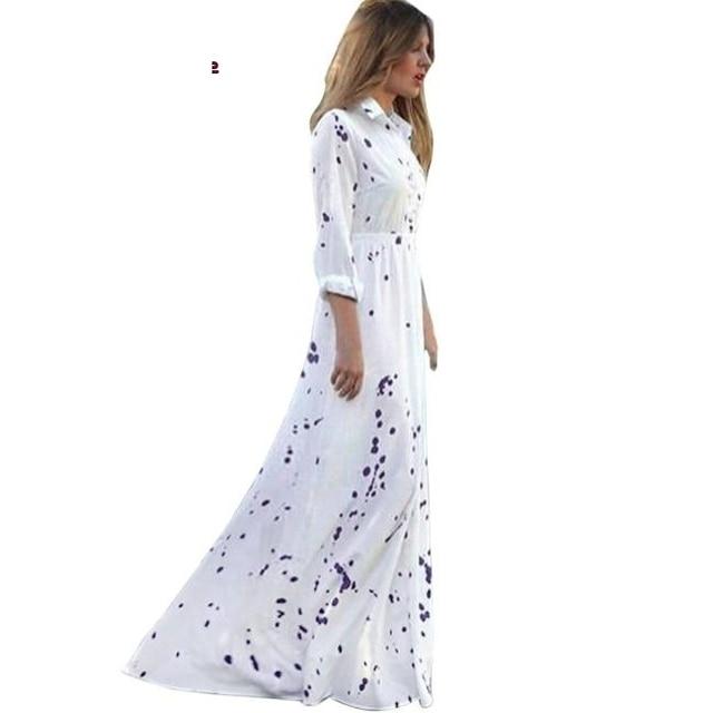 Dress Women Summer Dress Boho Evening Party Long Beach Sexy Dress Elegant Chiffon 2019
