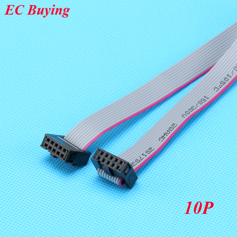 ᗗ5pcs Fc 10p 2 54mm ᗔ Pitch Pitch Jtag Avr Download Cable