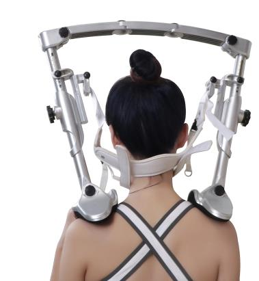 Household cervical traction apparatus stretch therapy care massager cervical vertebra tractor tractor frameHousehold cervical traction apparatus stretch therapy care massager cervical vertebra tractor tractor frame