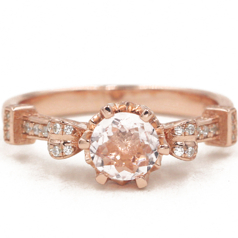 line Buy Wholesale morganite engagement ring from China morganite engagemen