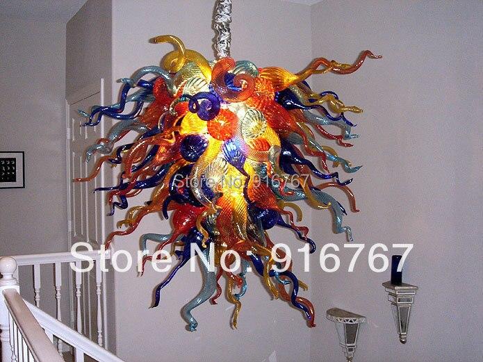 C177 suspension LED Commercial coloré contemporain