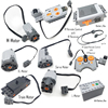 Technical Power Functions Servo Motor Polarity Switch IR Speed Remote Control Receiver Battery Box technic creator