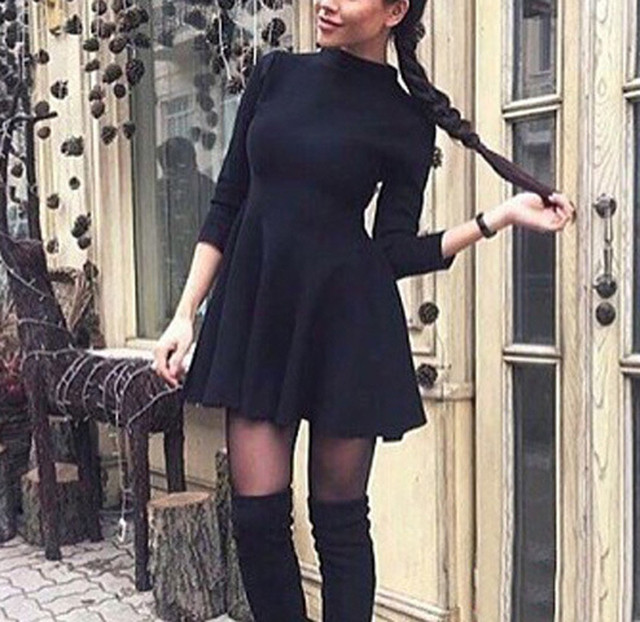2018 Sexy Off Shoulder Summer Women Dress Female Womens Holiday O Collar Party Ladies Casual Dress Half Sleeve Dress Party Dress 5