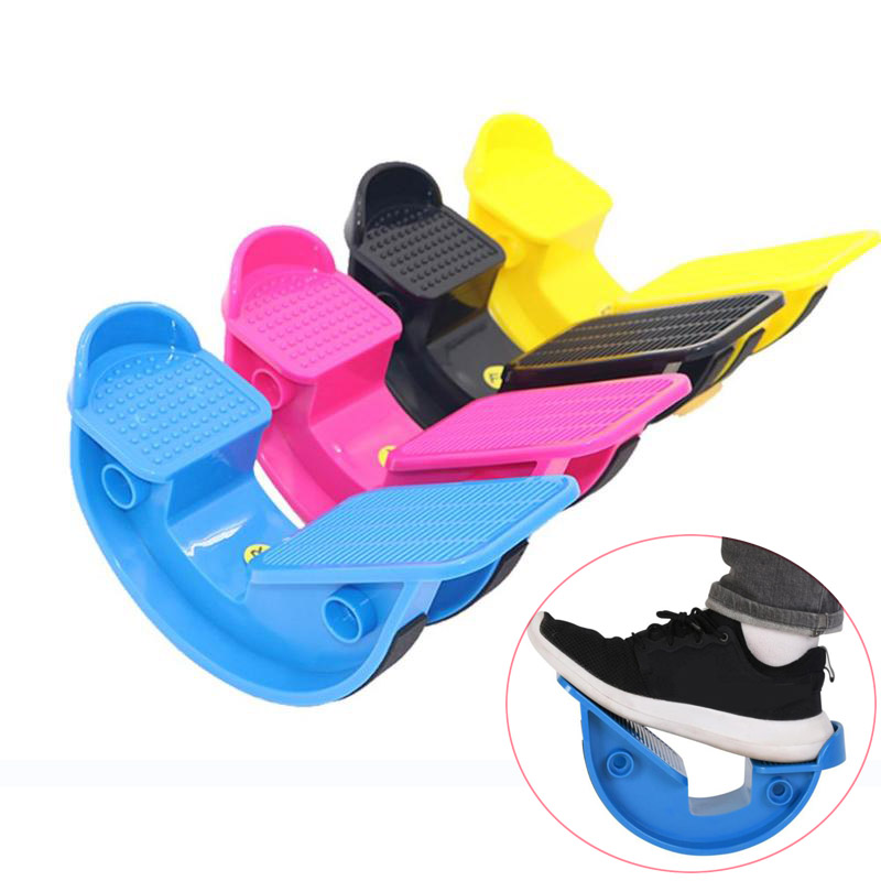 1pc Foot Rocker Calf Ankle Stretch Board for Achilles Tendinitis Muscle Stretch Massage Fitness Pedal Stretcher Plantar For Yoga image