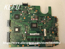 KEFU X45VD Para ASUS X45VD laptop motherboard com CPU i3 mainboard 100% testado original motherboard(China)