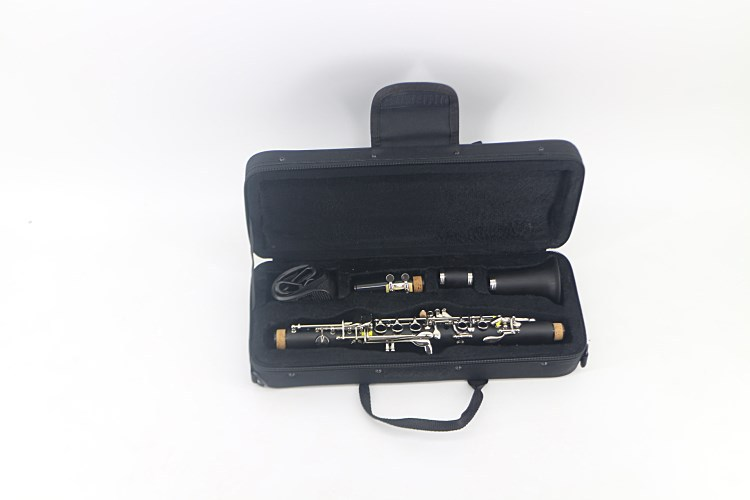 Clarinet Bakelite 17 Key Fallong Tune E Soprano Binocular Clarinet with Screwdriver Case Woodwind Instrument in Clarinet from Sports Entertainment
