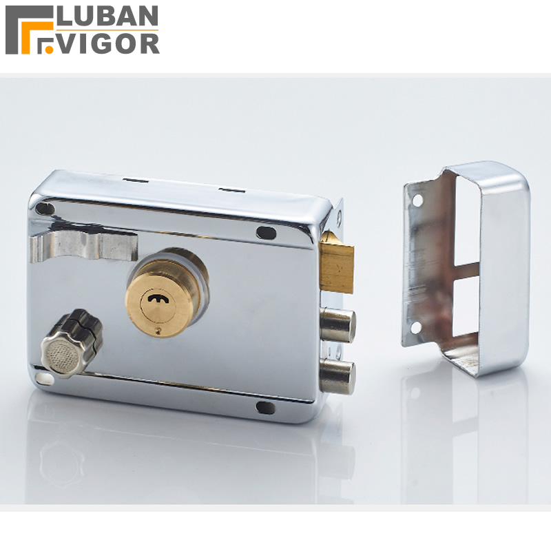 Universal anti-theft door lock,Explosion-proof tamper, B-class copper cylinder/lock tongue,for wooden/metal doors,no rust free shipping electric rim lock electro mechanical lock used for access control systems anti theft doors wooden doors etc