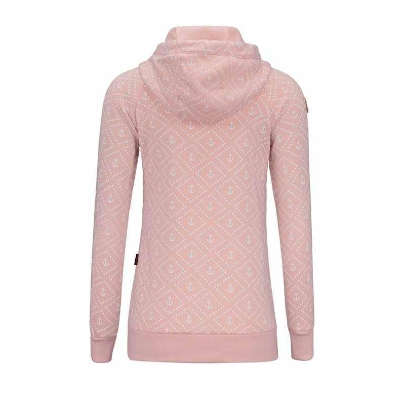 Sisjuly Winter Warm Casual Plus Size Women Hoodies Straight Hooded Dots Green High Street Autumn Female Fall Top Sweatshirt