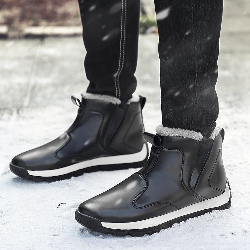745441cc4 Hommes 48 bleu En Plus Au marron D'hiver Russe Taille Chaussures ...