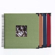Película autoadhesiva DIY foto de libro de recuerdos álbum regalos del Día de San Valentín invitados de boda artesanía de libros papel aniversario recuerdo de viaje álbum