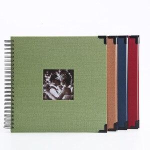 Image 1 - Película autoadhesiva DIY foto de libro de recuerdos álbum regalos del Día de San Valentín invitados de boda artesanía de libros papel aniversario recuerdo de viaje álbum