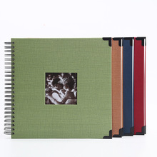 Samoprzylepna folia klejąca Album do scrapbookingu DIY Album fotograficzny prezenty walentynkowe ślub księga gości papier typu kraft rocznica pamiątka z podróży Album