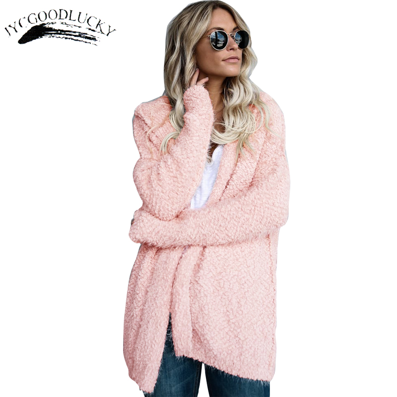 Hood   Jacket   Coat 2017 Fashion Warm Fur Coats   Basic     Jackets   Long Sleeve Autumn Women Clothing Coat Female Casual   Jacket   Women