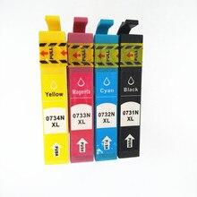 T0731 - T0734 Ink Cartridge For Epson T0731 CX7300 CX8300 TX210 C79 C90 CX3900 CX3905 CX4900 CX4905 CX5500 CX5600 CX5900 CX7310