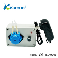 Kamoer KCP-C Peristaltic Water Pump Machine Simple and Easy to Control With Colourful Peristaltic Pump Head For Liquid Transfer