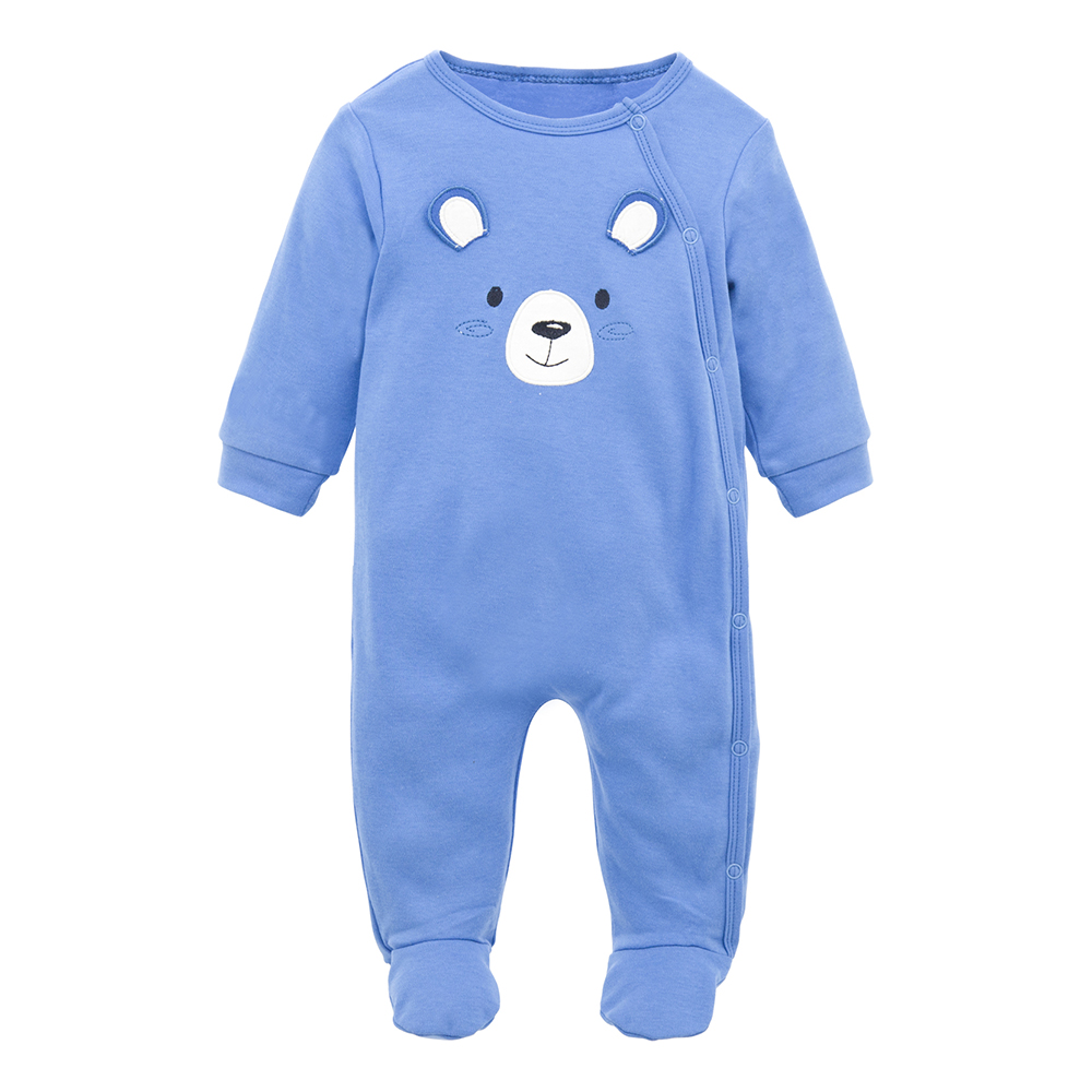 Fashion Baby Christmas Clothes Newborn Long Sleeve 100% Cotton Soft One Piece Winter Overalls For Baby Boy Girl Winter   Romper