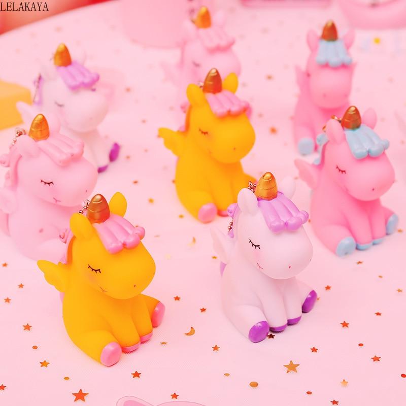 Squishy Mini Animals Unicorn Cartoon Creative Lovely Anti Stress Slow Rising Squeeze Fashion Relief Jokes Keychain Pendants Toy