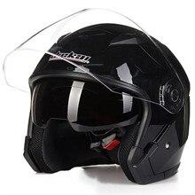 JIEKAI 512 modello di doppia lente aperto del fronte moto rcycle casco DOT approvato moto casco Dello Scooter casco della bici per adulti mand e la donna