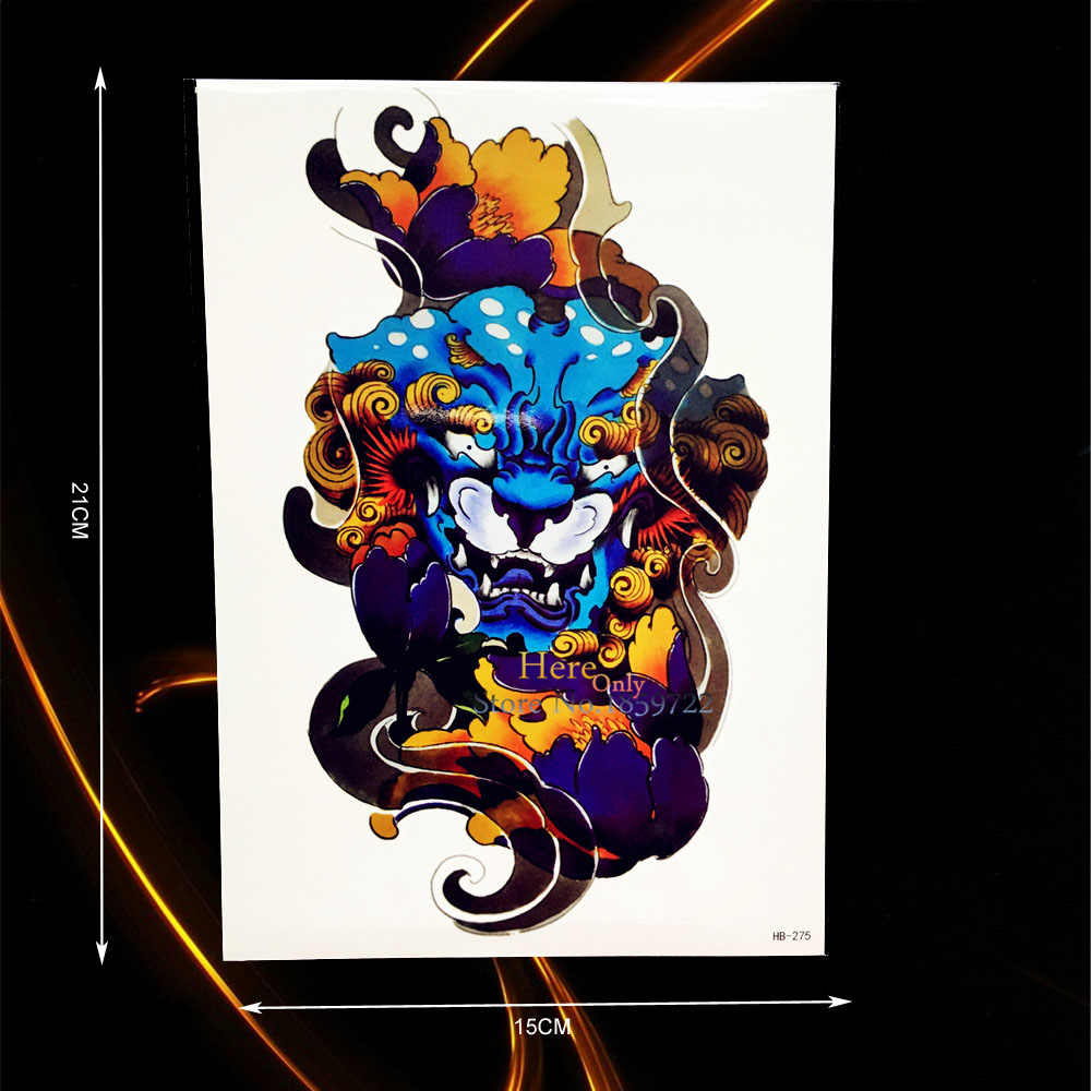 8156ddca4 Detail Feedback Questions about 1PC Large Waterproof Arm Tattoo ...