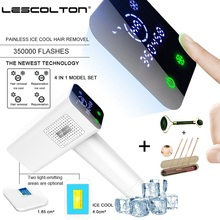 2019 100% Original Lescolton T012C 4in1 ICECOOL IPL Laser Hair Removal Device Permanent Hair Removal IPL laser Epilator Armpit