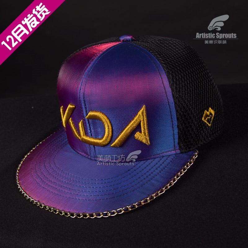 2019 Hot New LOL Idol singer new skin KDA Kali High Quality Hat
