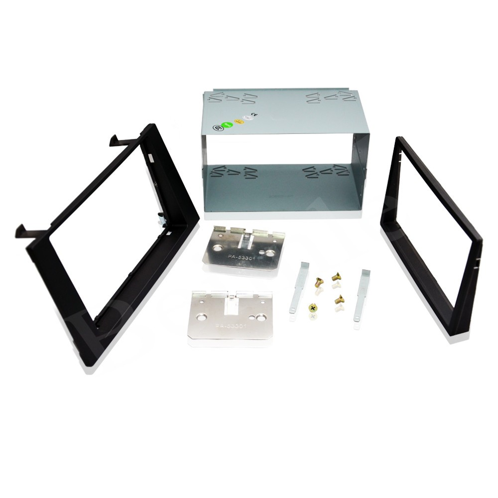 2 Din Car Kit Car Fascia Panel Audio Panel Frame Car Dash Frame Kit For Ford Mondeo 2004 2005 2006 2007 ityaguy fascia for ford ranger 2011 stereo facia frame panel dash mount kit adapter trim