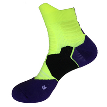Patchwork Professional Outdoor Sport Basketball Socks Running Walking Hiking Ankle Socks Bike Cycling Calcetines for Men Women