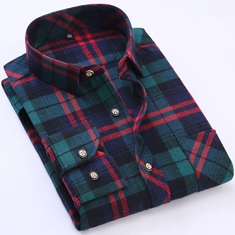 Popular Flannel Shirt Men Buy Cheap Flannel Shirt Men Lots